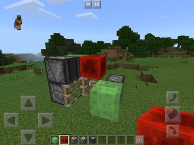 Minecraft PE Flying Machine