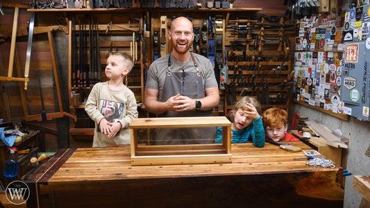 Teaching Kids Woodworking With a Bird Feeder