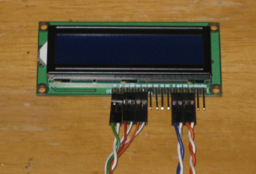 Picture of The Finished Liquid Crystal Displays