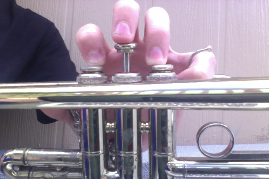 Picture of Fingering of D