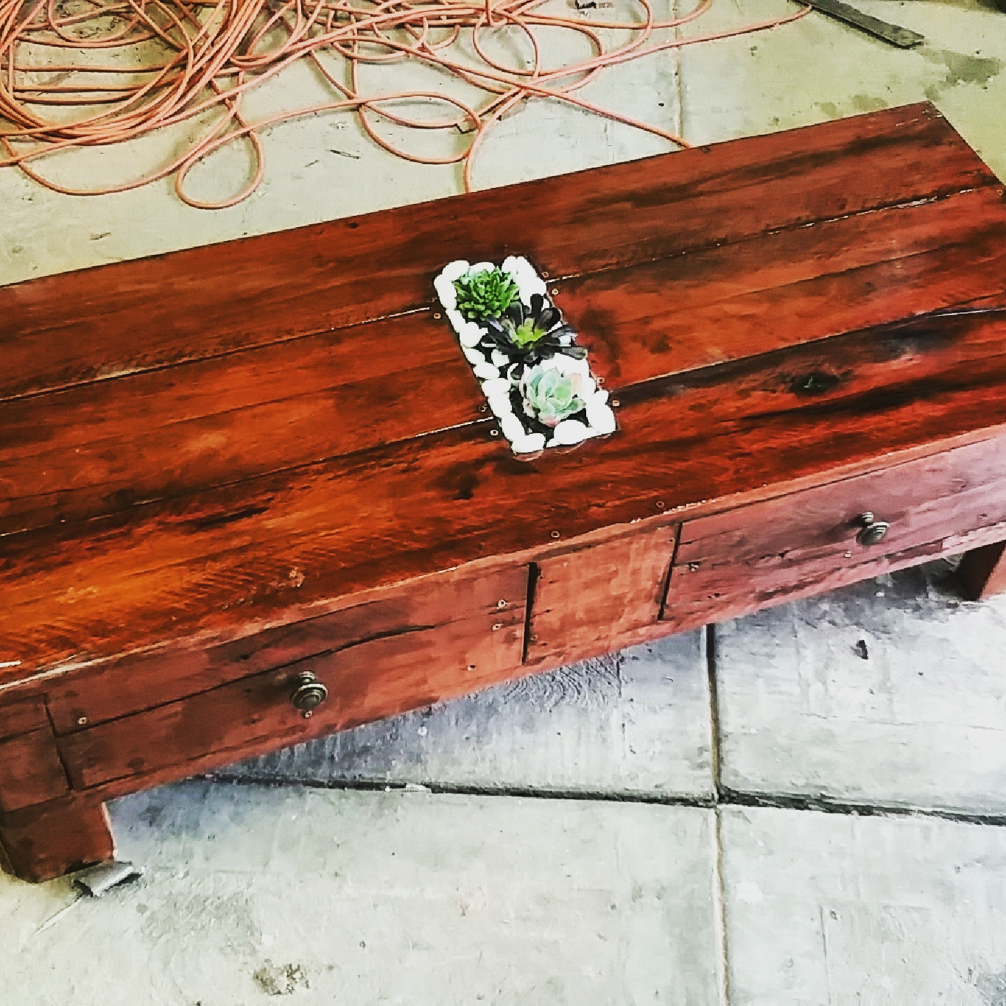 Picture of Redgum Pallet Coffee Table