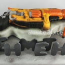 Nerf Gun-3d cake