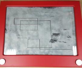 Giant Etch a Sketch