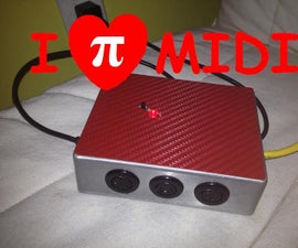 PiMiDi: a Raspberry Pi Midi Box, or How I Learned to Stop Worrying and Love MIDI