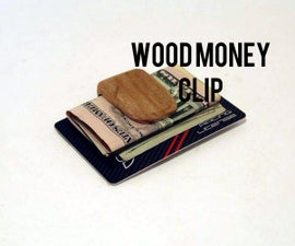 Wood Wallet Clip: From Pallets