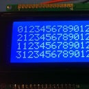 C Library for HD44780 LCD Display Controller