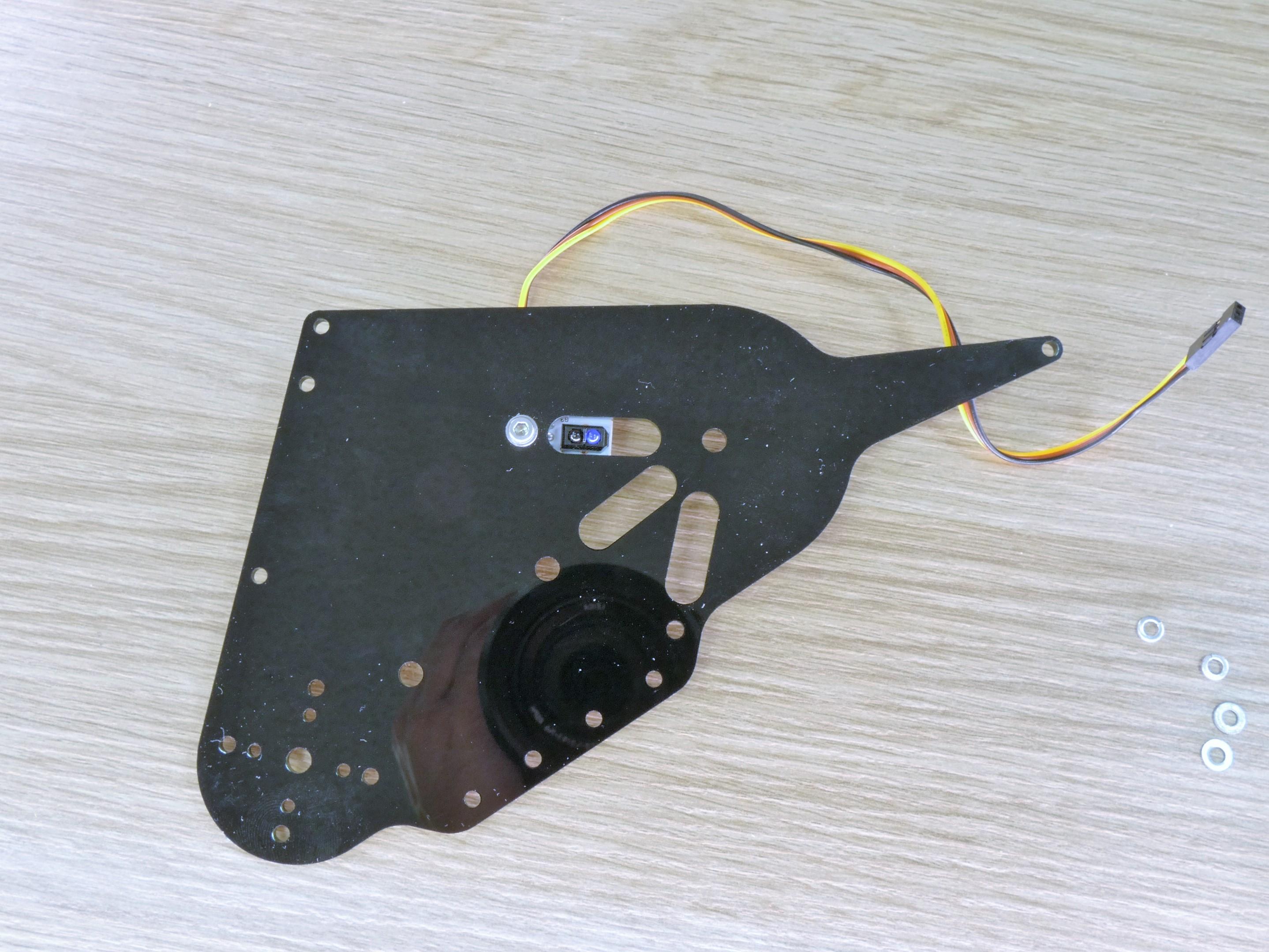 Picture of Mechanics. Assembling the Left Panel.