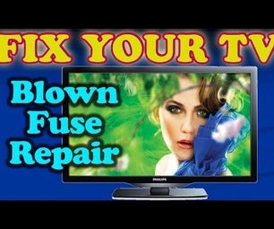 TV Repair for Constantly Blowing Fuse