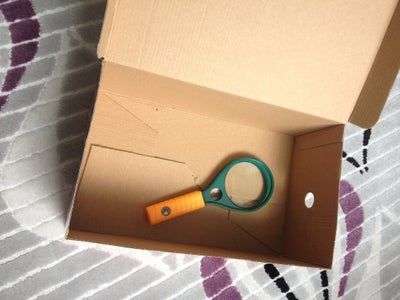 Find a Magnifier and a Box