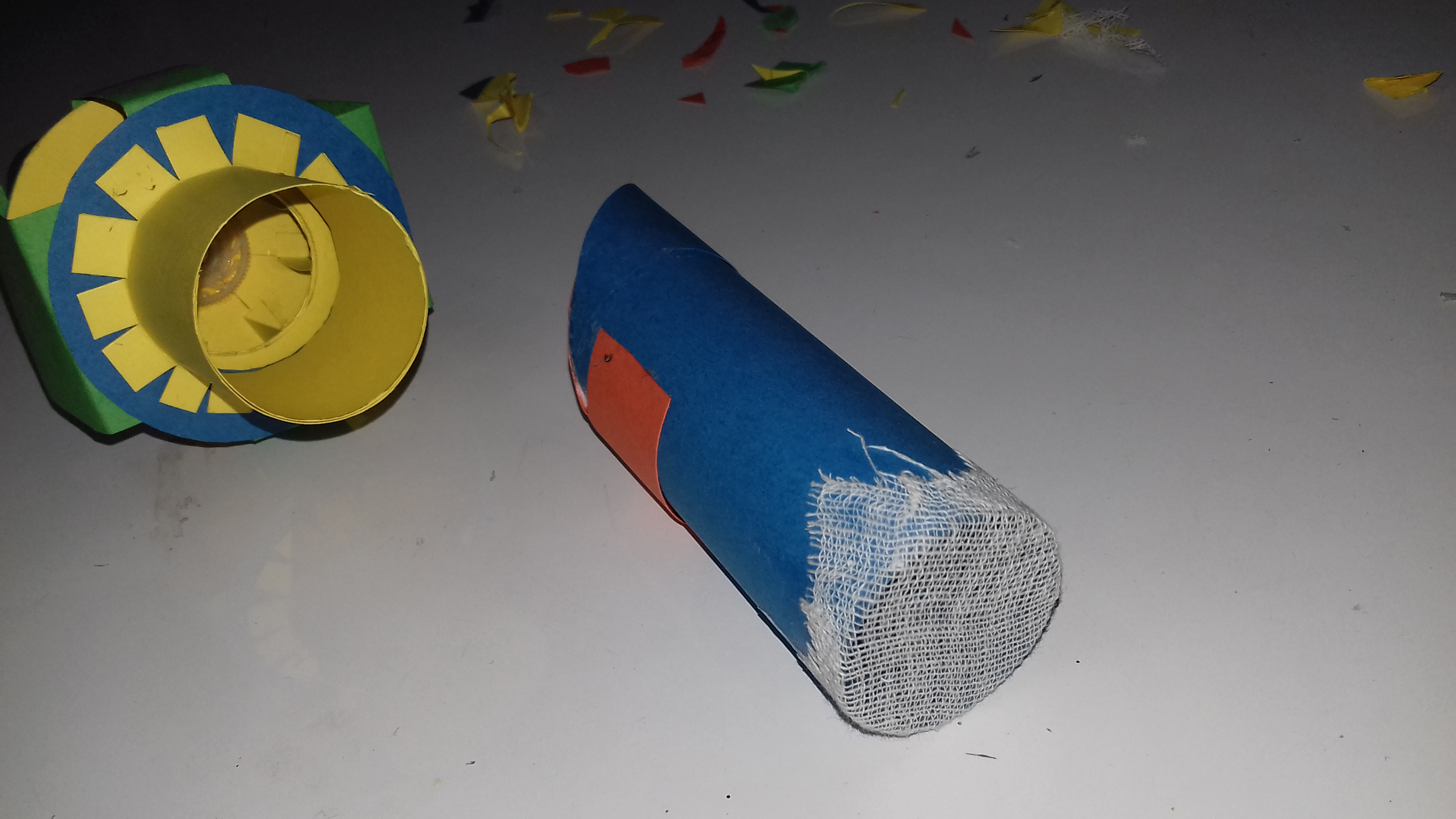 Picture of Hand Made Vacuum Cleaner From Paper