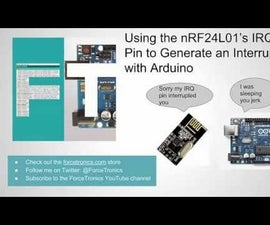 How to Use the NRF24L01's IRQ Pin to Generate an Interrupt With Arduino