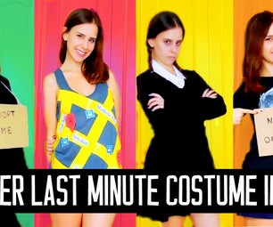 EXTREMELY Last Minute DIY Halloween Costume Ideas!