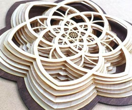 Layered Wooden Sculptures
