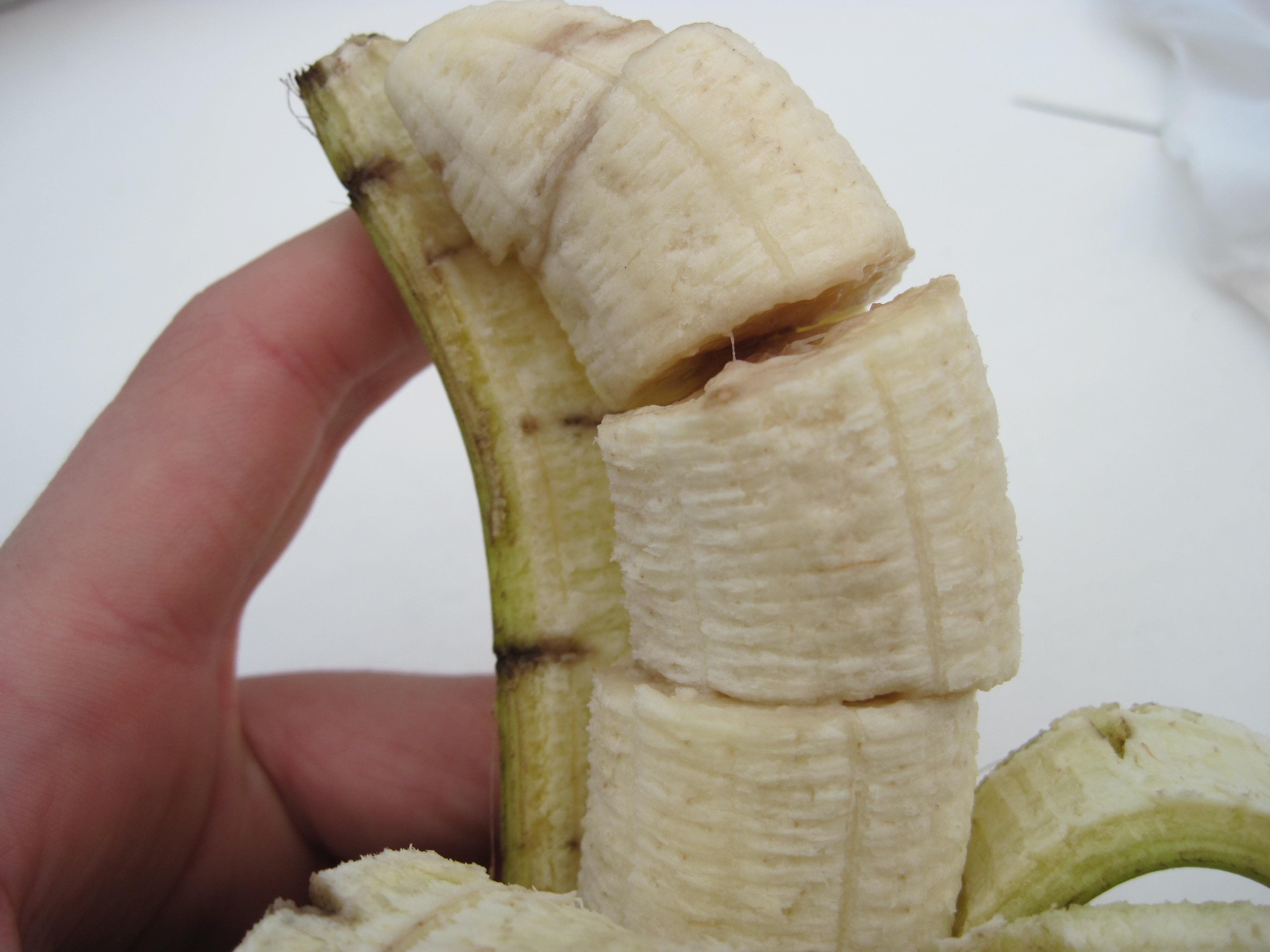 Picture of Pre-sliced Banana Prank!