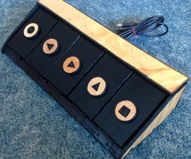 DIY USB pedal board for live looping