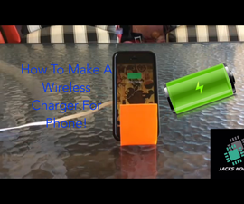 How to Make a Wireless Charger for Smart Phone!
