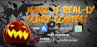 Make it Real-ly Scary with 123D and Tinkercad Contest
