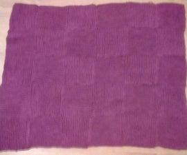 Blanket Knit Using Short Rows
