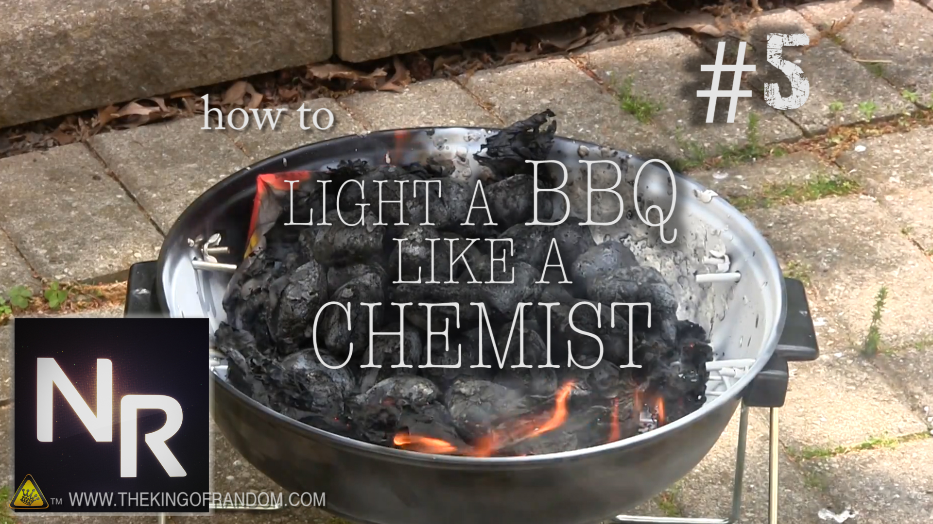 Picture of Chemical BBQ Ignition - NurdRage