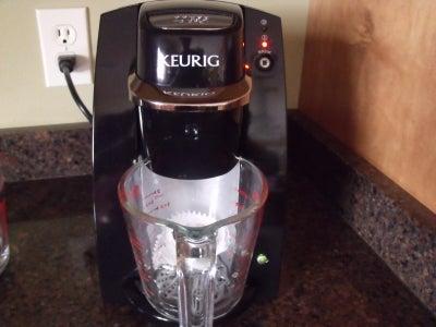 I'm Making My Recipe of Coffee (last Step)