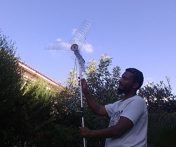 How to Make Wind Turbine From Plastic Bottles