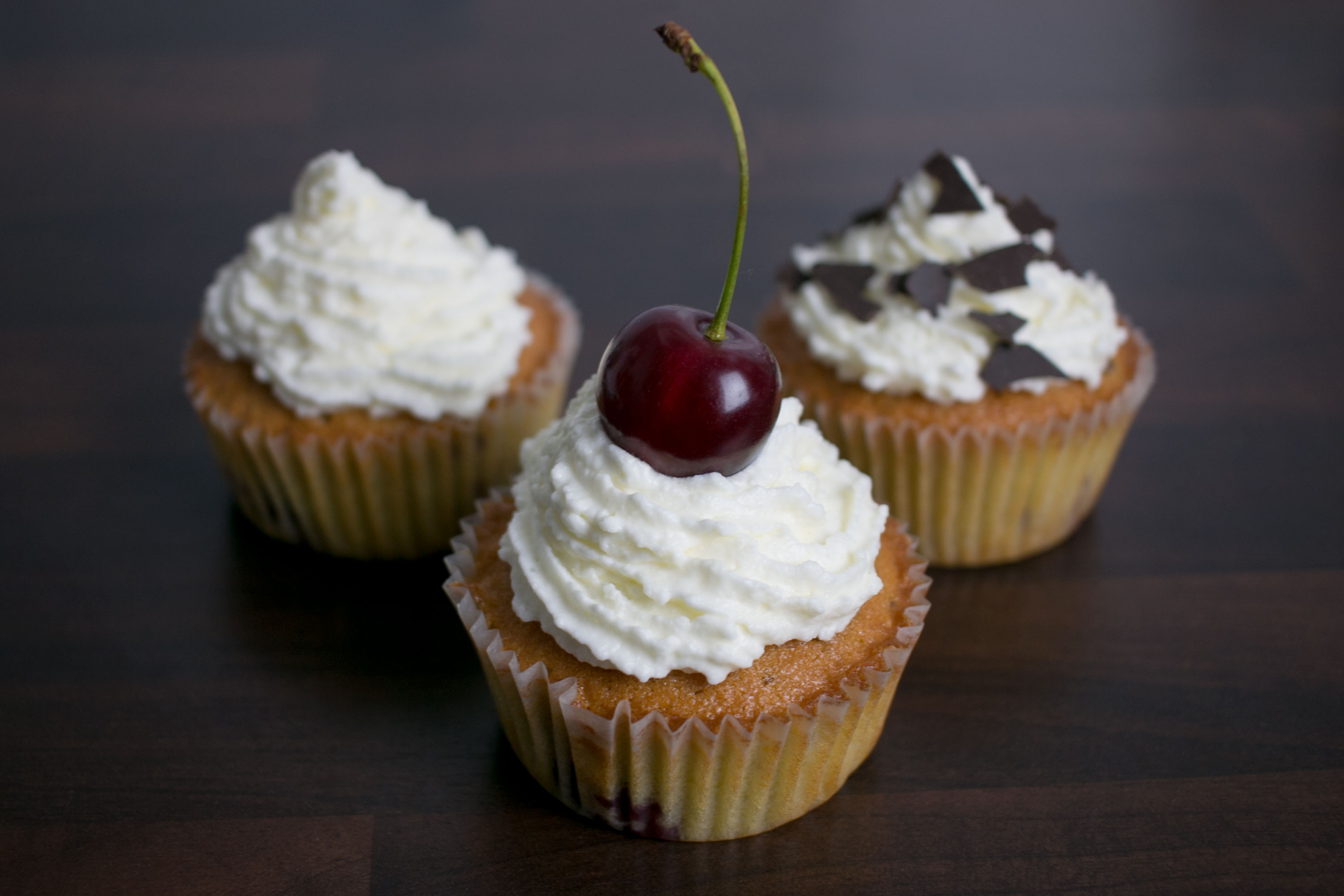 Picture of Cherry Eggnog Cupcake