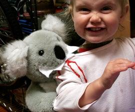 Vicious Koala Attack Child Costume