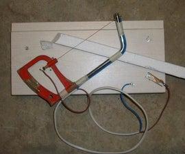 Hot Wire Plastic Cutter