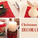 Christmas Table Decorations, DIY