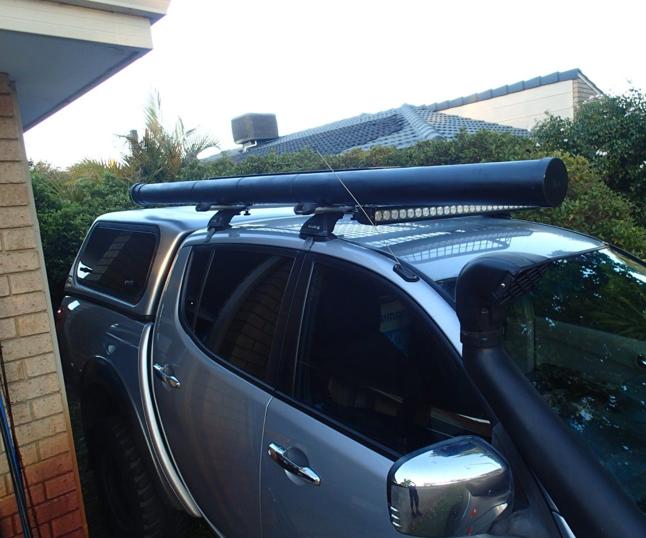 4wd Fishing Rod Storage Mod 7 Steps With Pictures Instructables