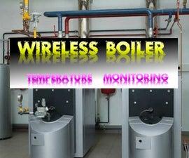 Distant boiler temperature monitoring