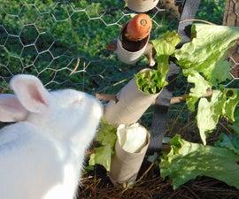DIY Edible Christmas Tree - for Bunnies