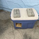DIY Stray Cat House