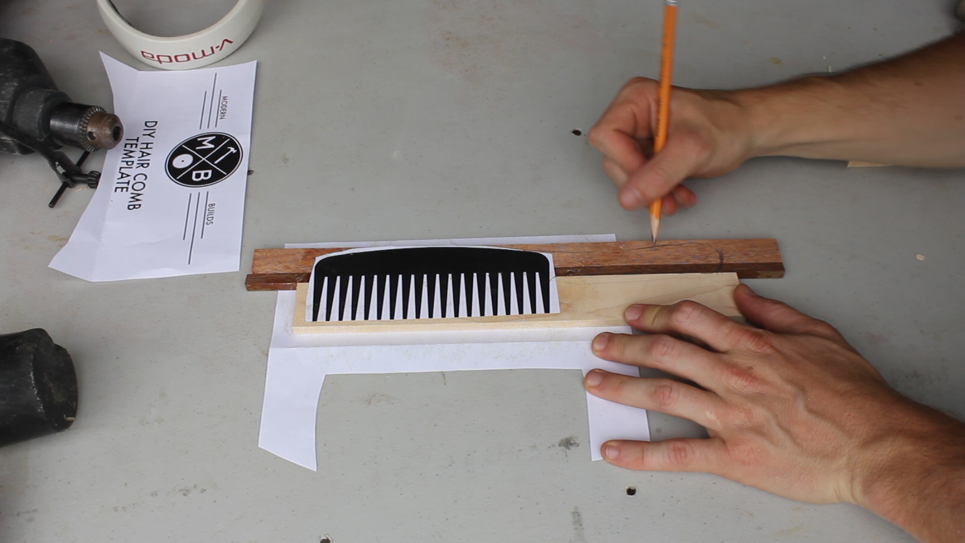 Picture of Template / Drawing Your Comb