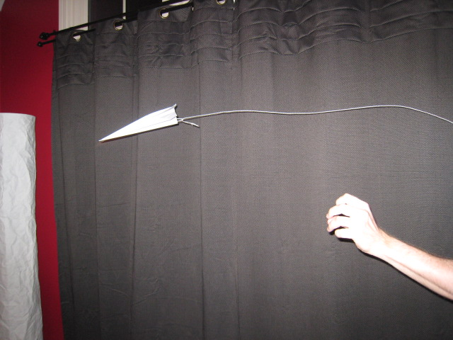 Picture of The Easy Paper Airplane Auto Retrieval System