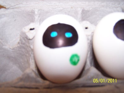 Egg Eve Robots From Wall-E