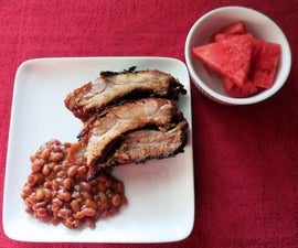 Pressure Cooked BBQ Ribs
