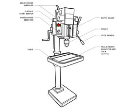 Getting Started With the Metal Drill Press