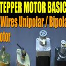 Stepper Motor Basics - 6 Wires Unipolar / Bipolar Motor