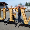 """Massive """"Marquee Letter"""" Decorations!"""