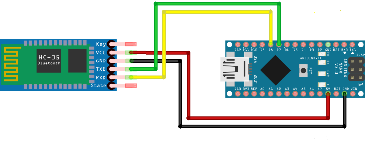 Picture of Circuit HC-05