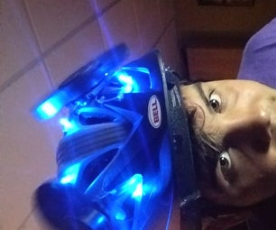 Air Conditioned Biking Helmet (Made From Recycled Computers)