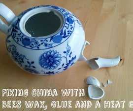 How to Fix Broken China, Pottery or Porcelain
