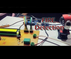 Image Processing Based Fire Recognition and Extinguisher System