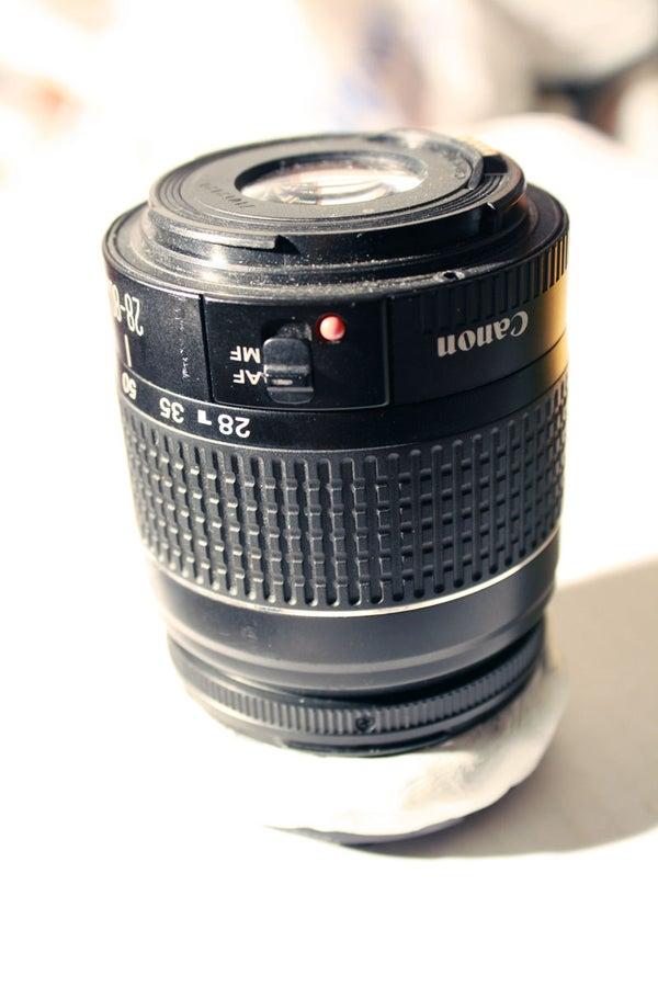 DIY Reversal Lens Macro Rig