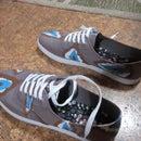 Ikat-Print Shoes