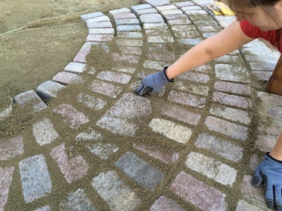 Step 3: Pacing the Pavers