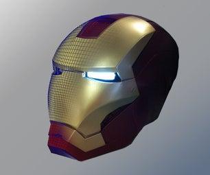3D Printing an Ironman Helmet