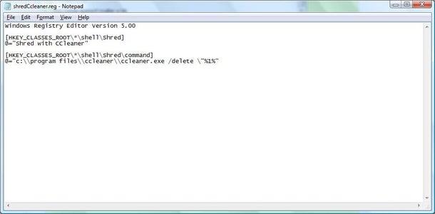 Create a Reg File