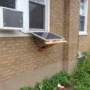 Solar Panel, Window Hanging